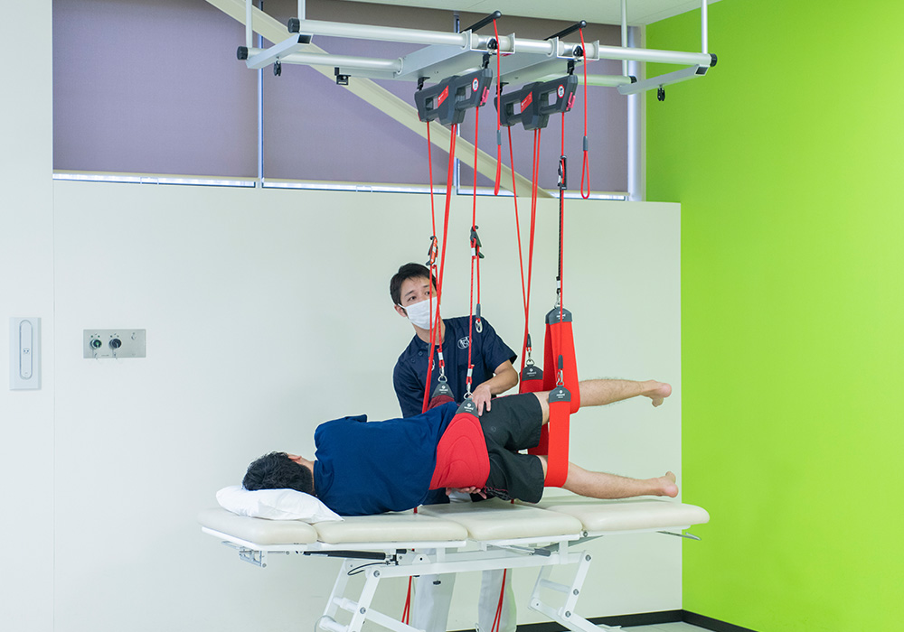 Red codeを用いた運動療法